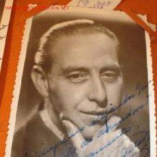 Cine: ANTIGUA FOTOGRAFÍA CON AUTÓGRAFO DEL ARTISTA CARLOS OLLERO, HACIA 1940. . Lote 1288185