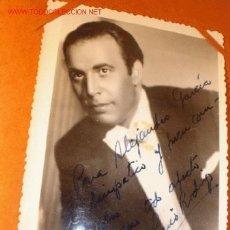 Cine: ANTIGUA FOTOGRAFÍA CON AUTÓGRAFO DEL ARTISTA LUIS RODRÍGUEZ, CIRCA 1940. . Lote 1307860
