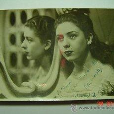 Cine: 9382 MERCEDES DEL CASTILLO FOTO DEDICADA AUTOGRAFO AÑOS 1960 OTRAS SIMILARES EN MI TIENDA C&C. Lote 13550365