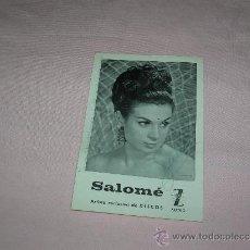 Cine: POSTAL SALOMÉ. Lote 29651037