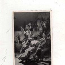 Cine: (M) LOLA FLORES - FOTOGRAFIA AUTOGRAFIADA ORIGINAL, 18 X 12 CM, SEÑALES DE USO. Lote 32384363