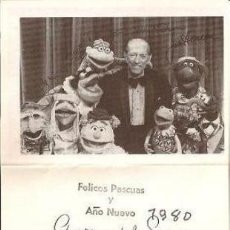 Cinema: FELICITACIÓN NAVIDEÑA SR. WENCES MORENO, 1980. Lote 35505144