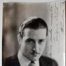 Cine: FOTOGRAFÍA DEDICADA Y FIRMADA POR EL ACTOR ENRIQUE GUITART EN BARCELONA EL AÑO 1939!!! . Lote 35936501