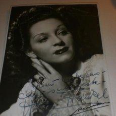 Cine: COMPAÑIA VIENESA-KAPS-JOHAM-HERTA FRANKEL- FOTO DEDICADA 1944. Lote 36124585