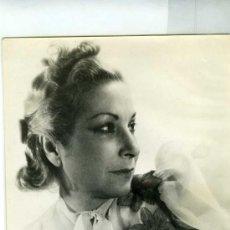 Cine: FOTOGRAFIA MARGARITA XIRGU ACTRIZ TEATRAL FIRMADA AÑO 1947. Lote 36776326