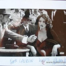 Cinema: AUTOGRAFO ORIGINAL MONICA BELLUCCI EN FOTO B/N DE MALENA. Lote 37208172