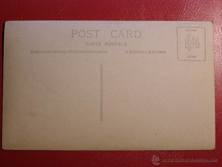 Cine: Antiguo autógrafo - Sin determinar por el momento - Sello en seco F. Mena Carretas 39 - Año 1923 - Foto 3 - 43131017