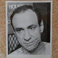 Cine: FOTOGRAFÍA FIRMADA POR F. MURRAY ABRAHAM. EN BLANCO Y NEGRO. AÑO 1988. MIDE 26X20 CM.. Lote 43319564