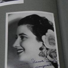 Cine: AUTOGRAFO Y DEDICATORIA MANUSCRITA DE ANTOÑITA MORENO 1952, 100% ORIGINAL, TAMAÑO POSTAL. Lote 45400377