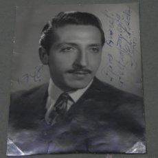Cine: AUTOGRAFO MANUSCRITO DEJORGE SEPULVEDA, FAMOSO CANTANTE, 100 % ORIGINAL, 1948, MIDE 12 X 8,5 CMS.. Lote 45462363
