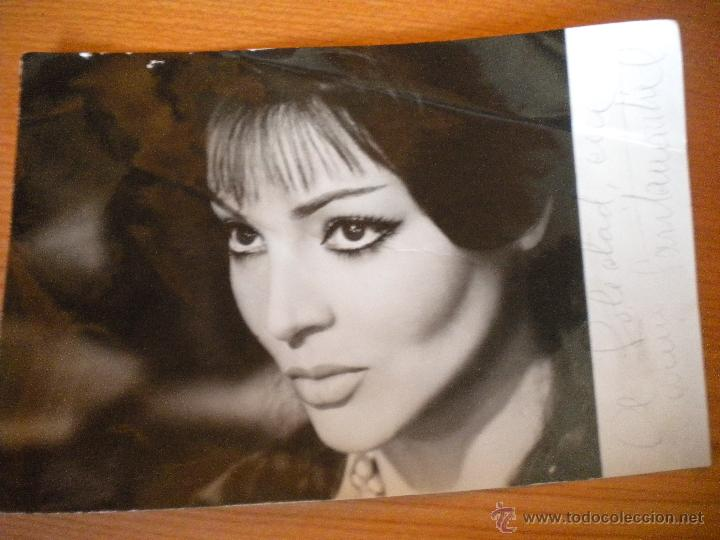 Cine: PRECIOSA FOTO CON AUTÓGRAFO ORIGINAL DE SARA MONTIEL - Foto 6 - 46013054
