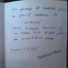 Cine: TARJETA DE FELICITACIÓN AUTÓGRAFO ALFONSO PASO Y JOSE LUIS DIBILDOS . Lote 47524623
