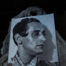 Cine: FOTOGRAFIA DE MIGUEL DE MOLINA AUTOGRAFIADA Y DEDICADA 1941. Lote 47983405