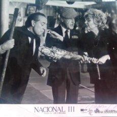 Kino - Amparo Soler leal Berlanga Nacional III autografo no impreso en foto 20 x 24 vintage original prod - 54648307