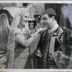 Cine: F23146 IMPERIO ARGENTINA AUTOGRAFO 1939 FOTO DE EPOCA. Lote 55056223