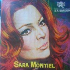 Kino - sara montiel autografo no impreso en poster original film Varietès 70x100 - 55309462