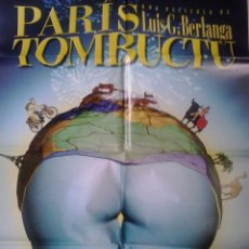 Kino - berlanga autografo no impreso en poster original Paris Tombuctù estreneno 70x100 - 55309582