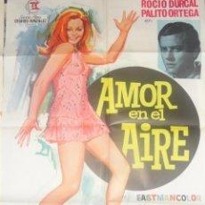 Kino - rocio durcal autografo no impreso en poster original Amor en el Aire 70x100 - 57530127