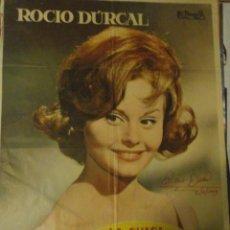 Kino - rocio durcal autografo no impreso en poster original La chica del trebol 70x100 - 57530159