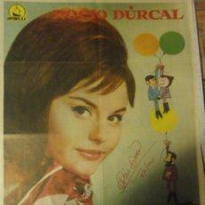 Kino - rocio durcal autografo no impreso en poster original Tengo 17 a. Film 70x100 - 57530184