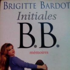 Cine: BRIGITTE BARDOT AUTOGRAFO EN AUTOGRAFIA MEMORIAS ORIGINAL INITIALES . Lote 57828665