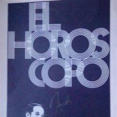 Cine - alfredo landa autografo en dossier original film el horoscopo 20 x 30 - 62269988