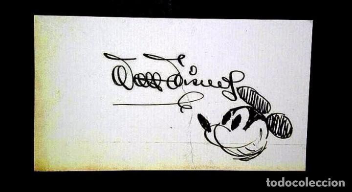 Resultado de imagen para autografo Walt Disney.