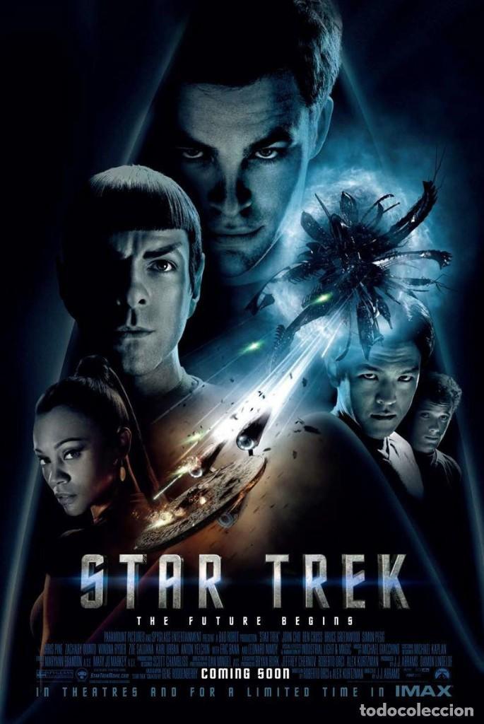 Cine: STAR TREK FOTO CON AUTÓGRAFO DE ZACHARY QUINTO CONOCIDO COMO SPOCK EN STAR TREK EL FUTURO COMIENZA - Foto 3 - 71047249