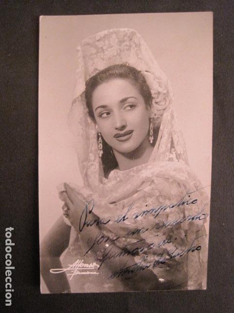 AMELIA DE CASTRO - AUTOGRAFO SOBRE FOTO - VER FOTOS -(V-8770) (Cine - Autógrafos)