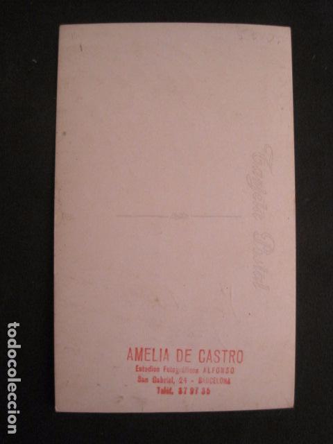 Cine: AMELIA DE CASTRO - AUTOGRAFO SOBRE FOTO - VER FOTOS -(V-8770) - Foto 3 - 75233719