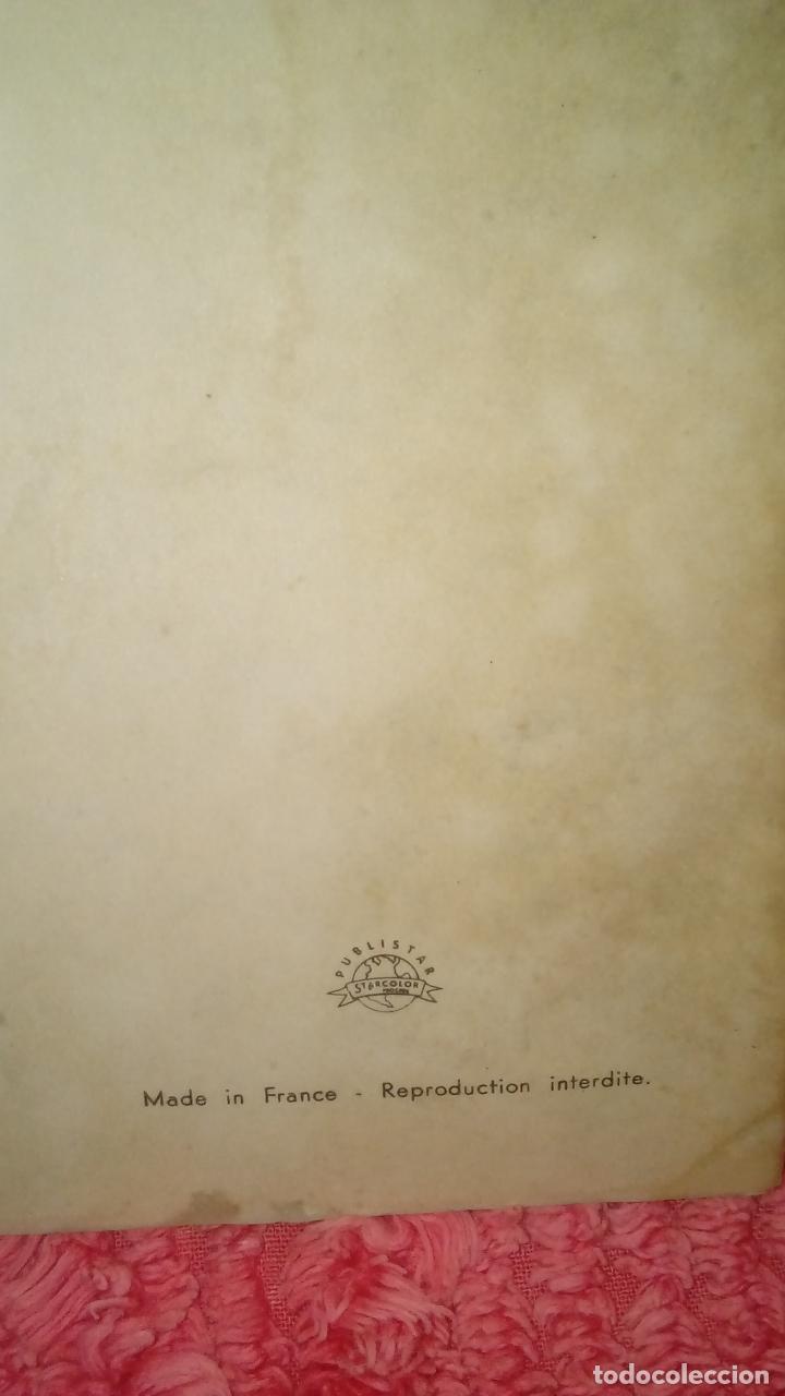 Cine: ANTIGUO CARTEL FOTO DE THE BEATLES CON BANDERA AMERICANA CON AUTOGRAFO IMPRESO. ¡¡ MUY RARO !! - Foto 3 - 125246826