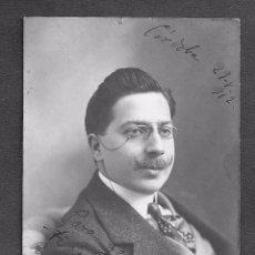 Cinema: TEATRO - AUTOGRAFO - FOTOPOSTAL AUTOGRAFIADA F. ALAMO AÑO 1912. Lote 82976716