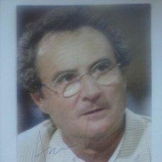 autografo actor frances