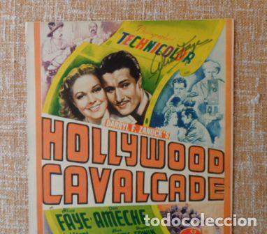 Cine: Autograph Alice Faye in the film Cavalcade, Hollywood - Foto 6 - 89319528