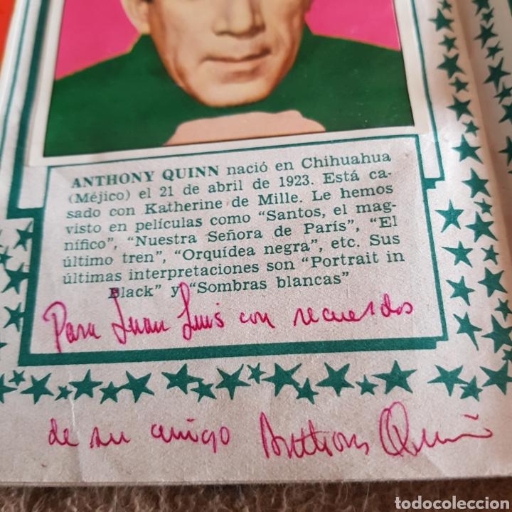 Cine: Autógrafos de Ingrid Bergman y Anthony Quinn en album de cromos Cine foto - Foto 3 - 102297138