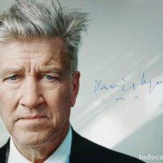 Cine: DAVID LYNCH AUTOGRAFO EN FOTO 20 X 16 AMERICAN DIRECTOR INTERNATIONAL . Lote 106070979