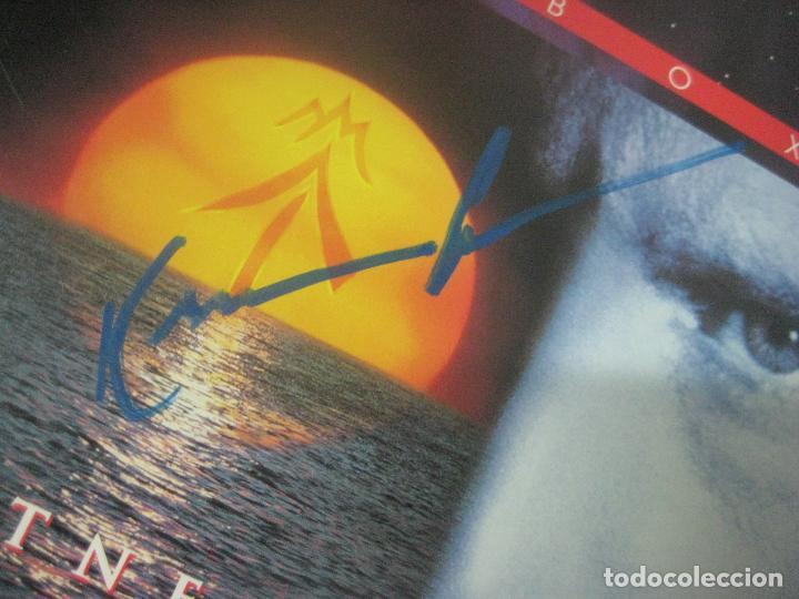 Cine: PELICULA WATERWORLD EN DOBLE LASERDISC FIRMADA A MANO POR EL ACTOR KEVIN COSTNER EN 1995,PIEZA UNICA - Foto 3 - 108552011
