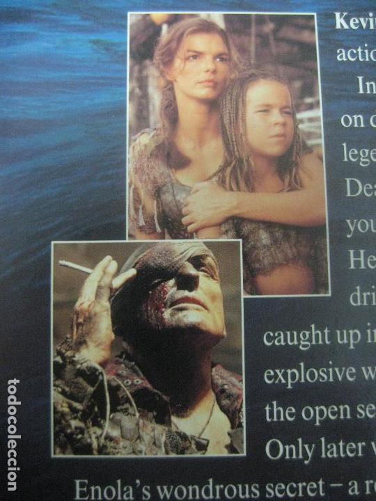 Cine: PELICULA WATERWORLD EN DOBLE LASERDISC FIRMADA A MANO POR EL ACTOR KEVIN COSTNER EN 1995,PIEZA UNICA - Foto 10 - 108552011