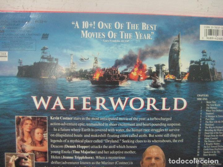 Cine: PELICULA WATERWORLD EN DOBLE LASERDISC FIRMADA A MANO POR EL ACTOR KEVIN COSTNER EN 1995,PIEZA UNICA - Foto 14 - 108552011