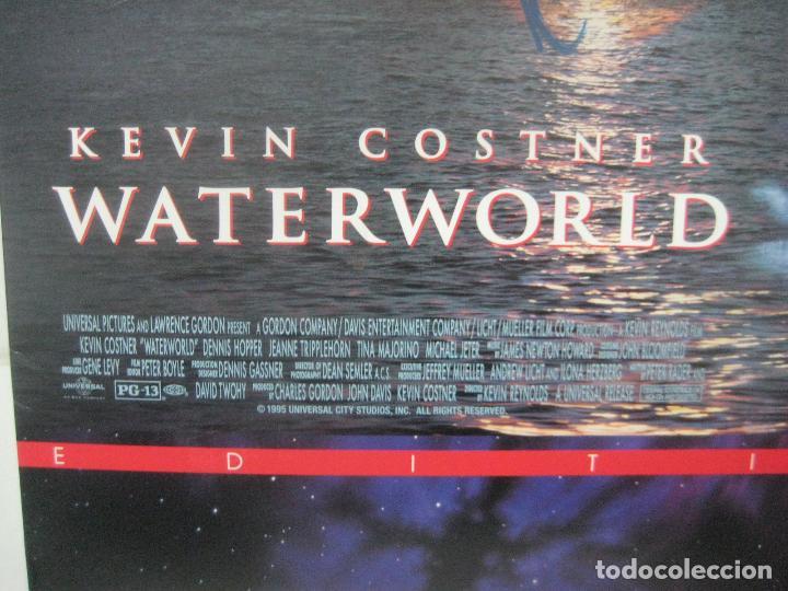 Cine: PELICULA WATERWORLD EN DOBLE LASERDISC FIRMADA A MANO POR EL ACTOR KEVIN COSTNER EN 1995,PIEZA UNICA - Foto 16 - 108552011