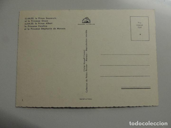 Cine: grace kelly grace de monaco - autografo firma original sobre postal familia real carolina stephanie - Foto 3 - 109861155