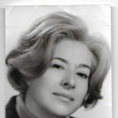 Cine: FOTOGRAFIA DEDICADA CON LA FIRMA DE ENCARNA SANCHEZ 1968. Lote 118355255