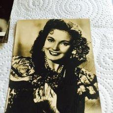 Cine: FOTOGRAFÍA CON AUTÓGRAFO DE CARMEN SEVILLA. Lote 123719951