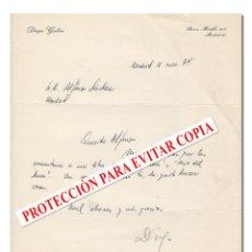 Cine: CARTA ORIGINAL MANUSCRITA Y FIRMADA POR EL DIRECTOR DE CINE DIEGO GALÁN DIRIGIDA A ALFONSO SÁNCHEZ. Lote 125706838