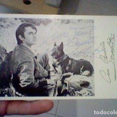 Cinéma: PRISIONERO EN LA CIUDAD TARJETA CON AUTOGRAFO ORIGINAL JOSELITO 1969. Lote 128449563