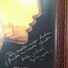 Cine: CARLOS Y JORDI GRANGEL - AUTÓGRAFO - THE PRINCE OF EGYPT. Lote 128482747