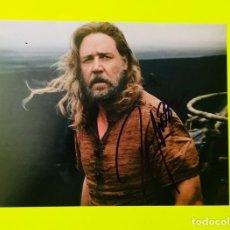 Cine: RUSSELL CROWE - AUTOGRAFO ORIGINAL EN FOTO ( 20 X 25 CM ) - CON CERTIFICADO DE AUTENTICIDAD. Lote 146045154