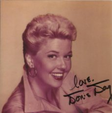 Cine: AUTÓGRAFO ORIGINAL DE DORIS DAY. FIRMA. AUTOGRAPH. HAND SIGNED. 15X10 CM. HOLLYWOOD.. Lote 131524842