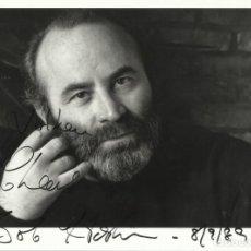Cine: AUTÓGRAFO ORIGINAL DE BOB HOSKINS. FIRMA. AUTOGRAPH. HAND SIGNED. 17X21 CM. 1989.. Lote 131701270