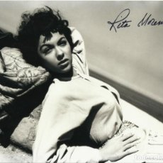 Cine: RITA MORENO. AUTÓGRAFO ORIGINAL. HAND SIGNED. FIRMA. AUTOGRAPH. 20X26 CM. WEST SIDE STORY. HOLLYWOOD. Lote 133808586